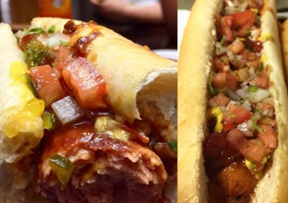 Mega Chili Hot Dog Submarine