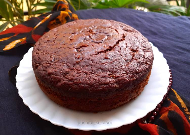 Eggless plum cake