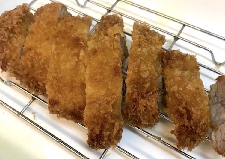 Japanese Pork Cutlet (Tonkatsu)