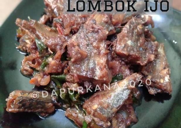 Peda oseng Lombok ijo