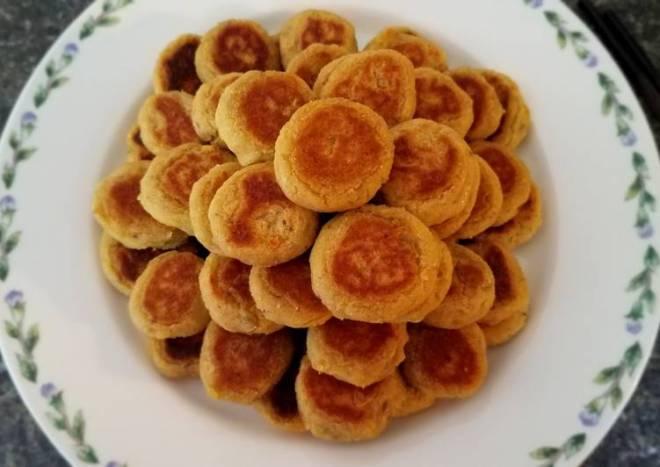 Sweet potato Tikki 红薯土豆米煎饼