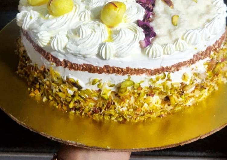 Rasmalai Rabdi Cake