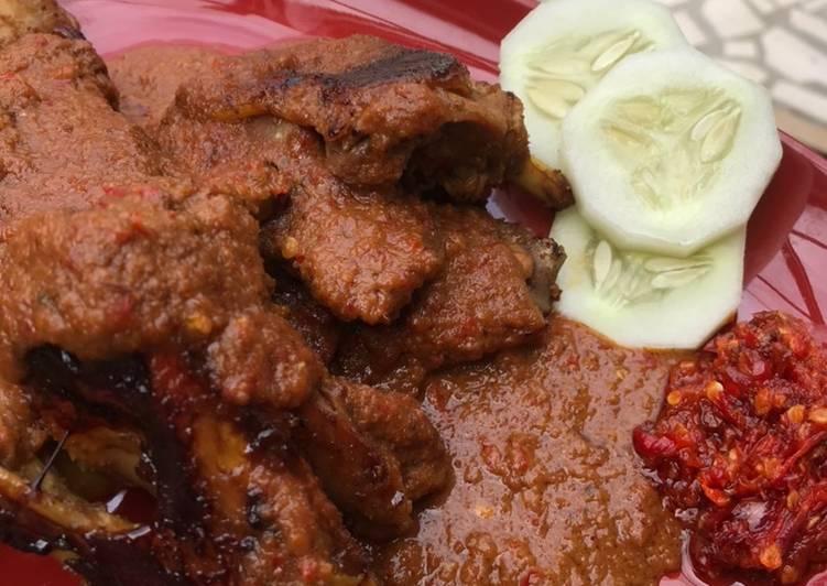 Ayam Bakar Bumbu Kacang KW nya mas Yanto/Genther