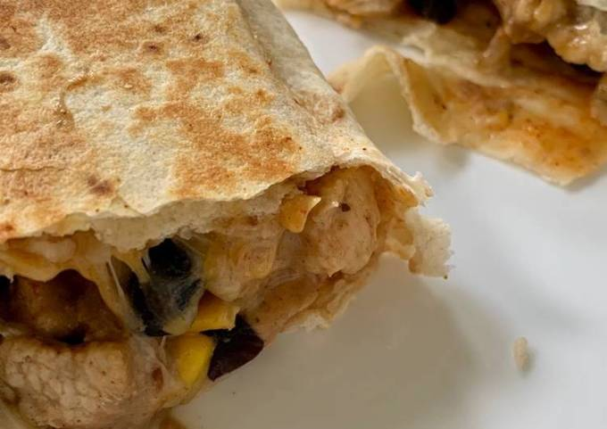Tex-Mex Chicken Burritos