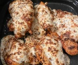 Recipe: Yummy Everything bagel chicken with creamy scallion sauce