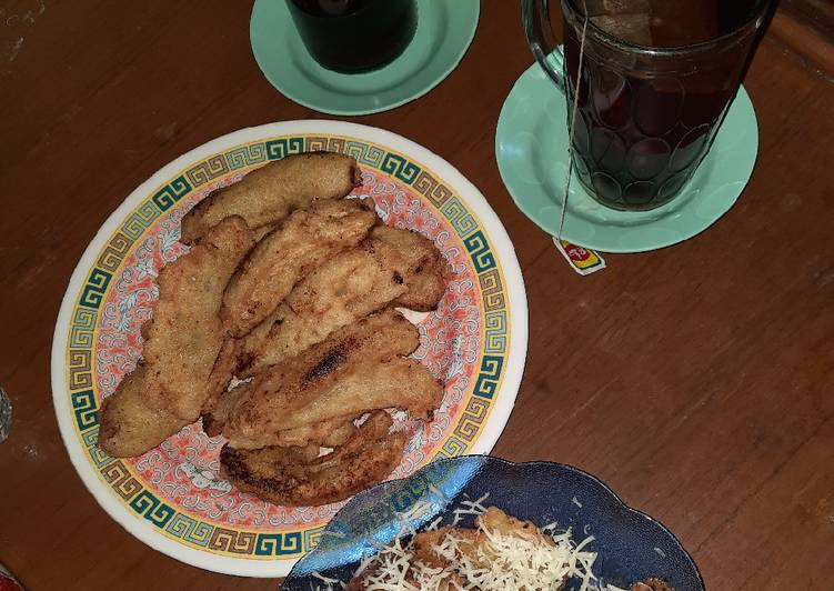 Pisang goreng simple renyah