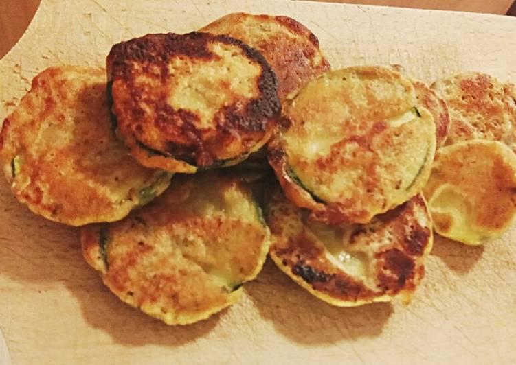 Fried Zucchini (Vegan)