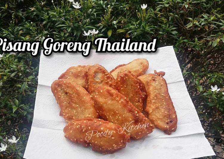 Pisang Goreng Thailand