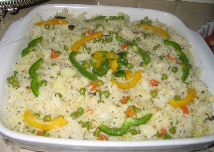 Delicious Indian Vegetable Rice
