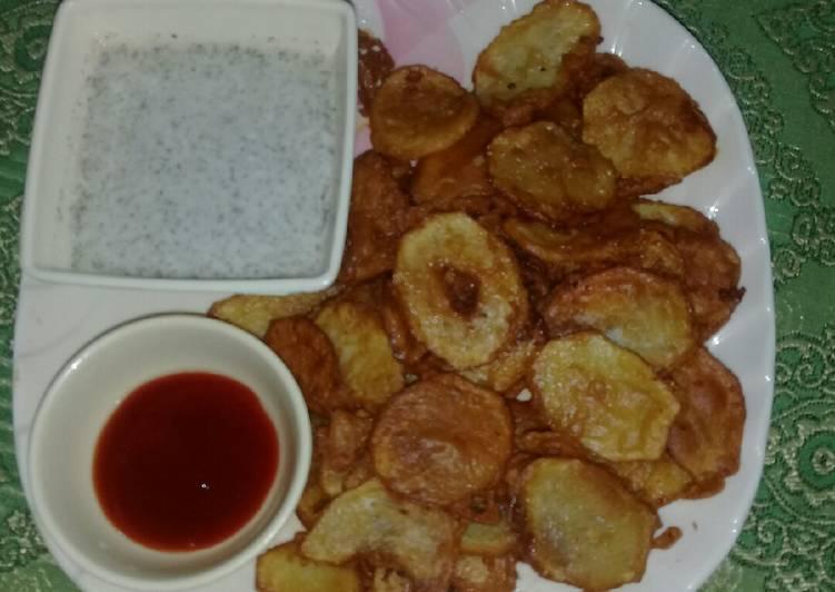 Ringly potato chips