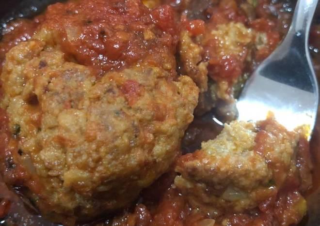 Jumbo Cheesy Meatballs