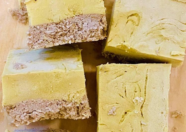 Lemon Coconut Vegan Cheesecake - 6 ingredients (No sugar)