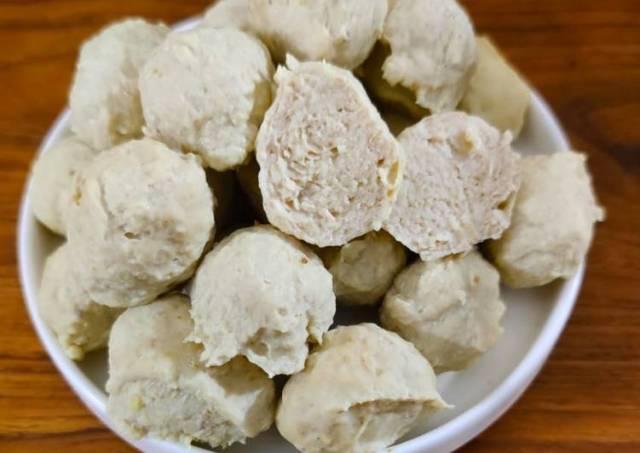 Bakso ayam jamur tiram homemade