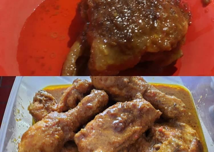 Ayam panggang ala Arabian
