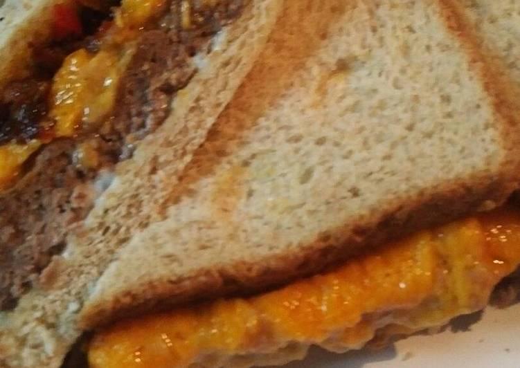Oven Baked Cheeseburger