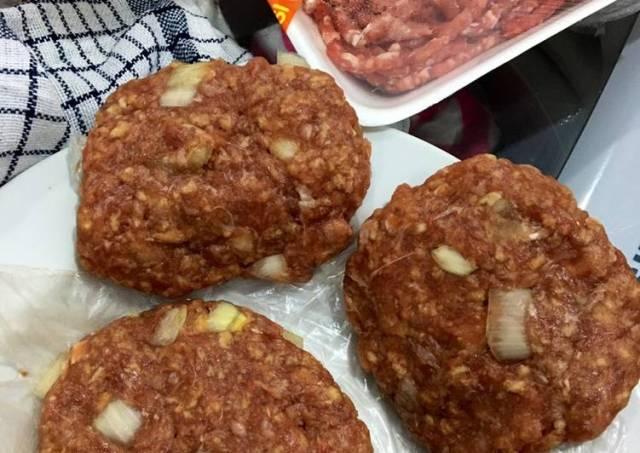 Beef Patty Homemade