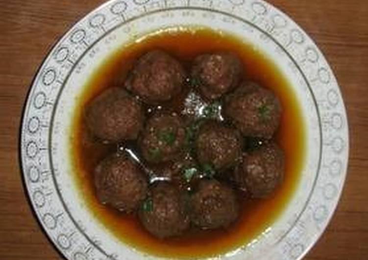 Pakistani beef Kofta curry