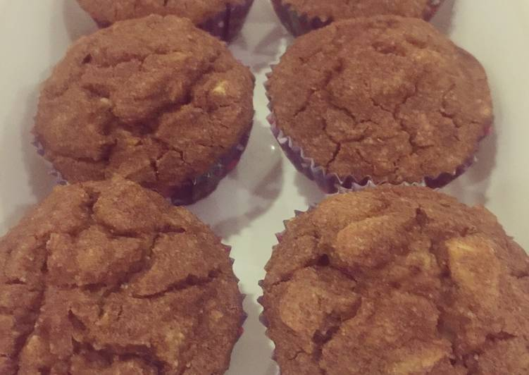 Macrobiotic Plantain Almond Cupcakes (Gluten Free, Vegan, Sugar-free)
