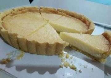 Resep Tart susu (pie susu) / kue lontar (crust pie enak) Bikin Laper