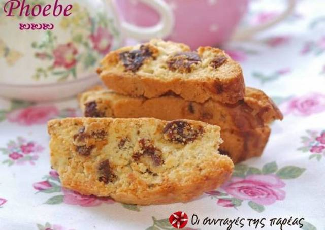 Biscotti with figs and anise