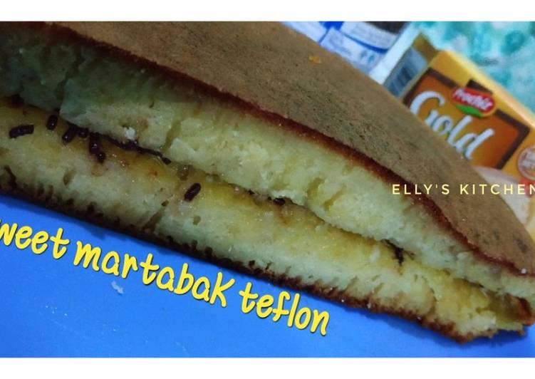 Sweet martabak teflon