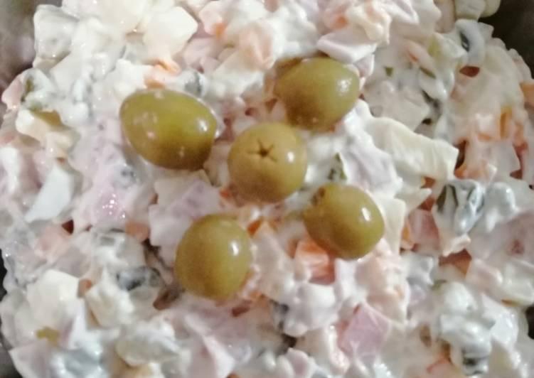 Mayonnaise Salad 🥗