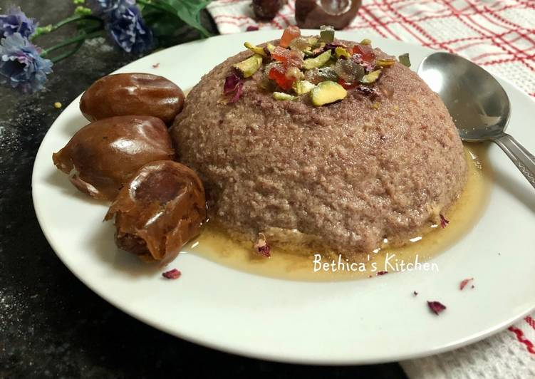 Steamed Date Pudding