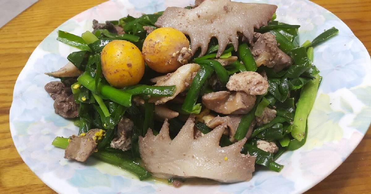 韭菜炒雞雜食譜 by 翠姐會客菜 - Cookpad
