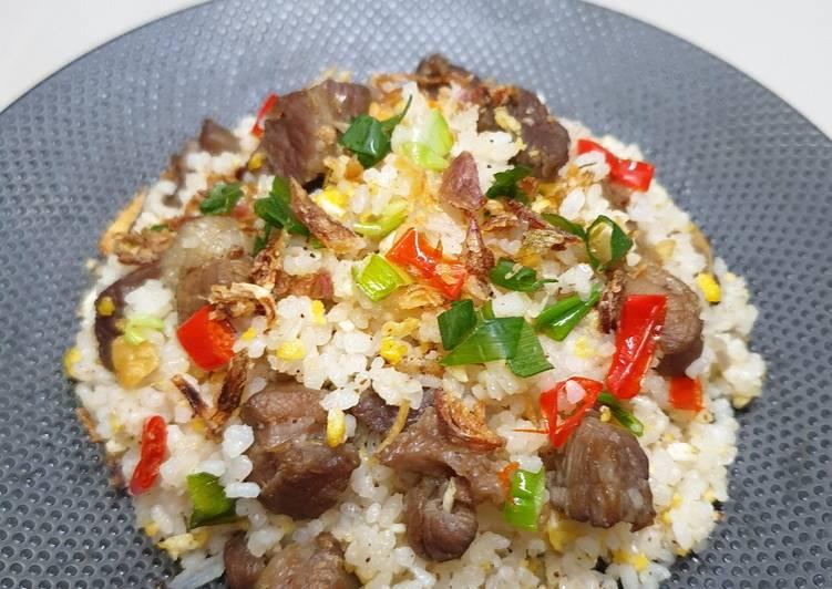 makanan kekinian Nasi Goreng Dendeng Lemak Nasi Goreng Tiarbah