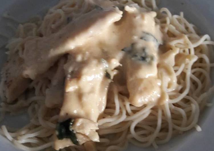 Creamy lemon chicken