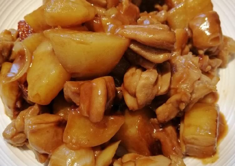 Braised Chicken and Potato