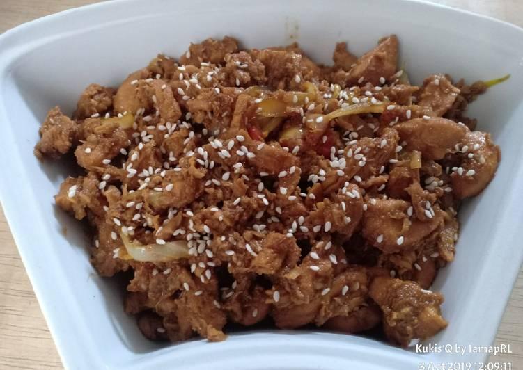 Ayam Teriyaki ala Hokben by me