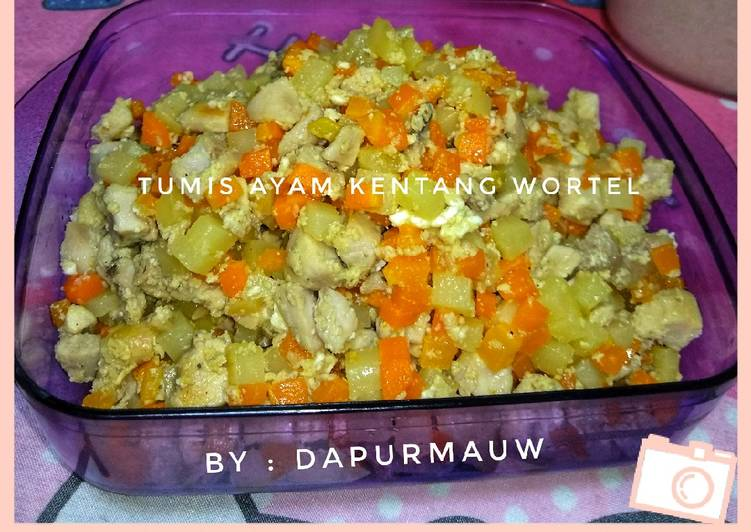 (25) Tumis Ayam Kentang Wortel (Isian Risol/lumpia)