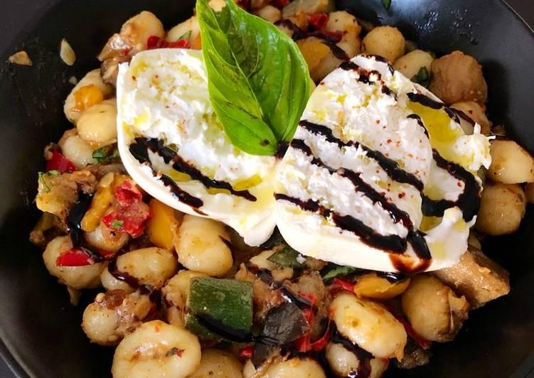 Salade de gnocchis à la Méditerranéenne