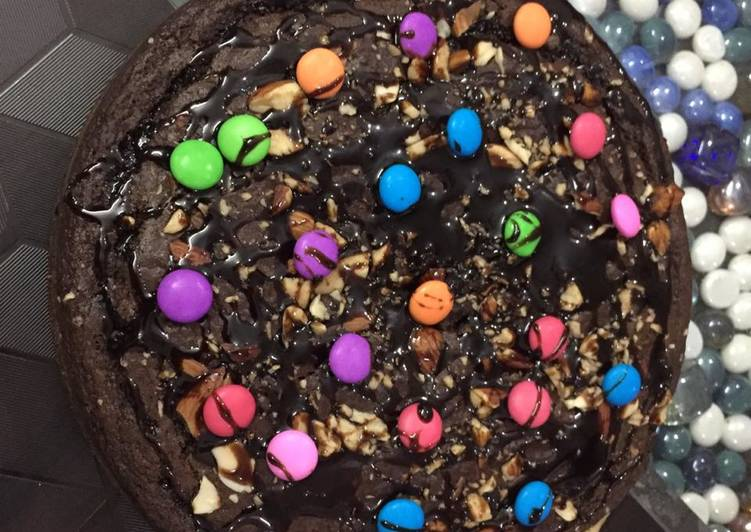 Dates walnut chocolate whole wheat flour cake(no added sugar)