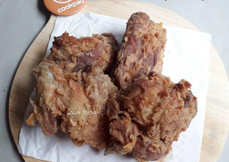 Ayam goreng tepung krispy