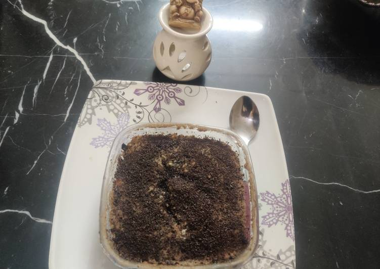 Wheat choco lava nutty cake