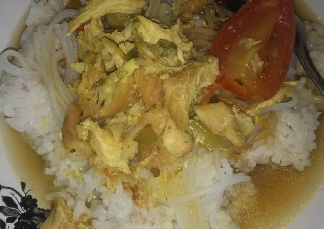 Soto Ayam simpel sehat
