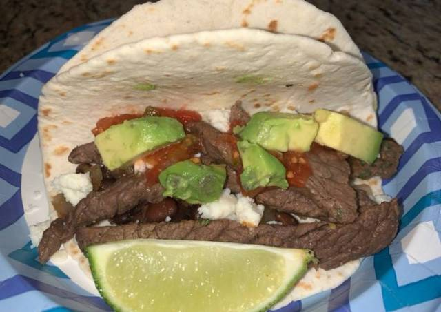 Cilantro Lime Steak Tacos