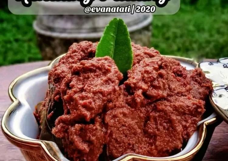Rendang Daging Sapi Ala Padang