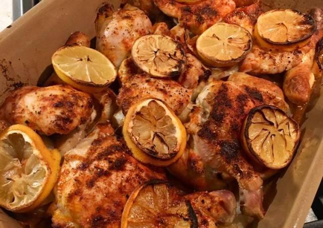 Lemon Chicken Traybake