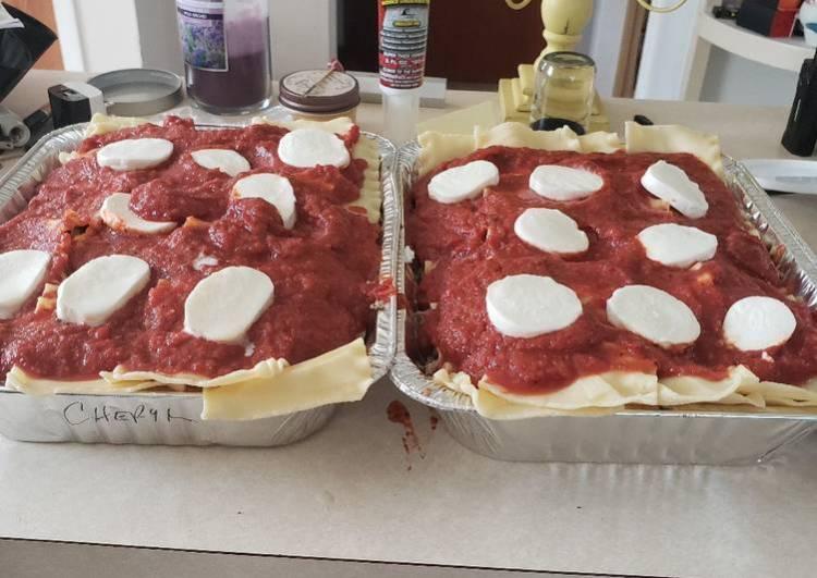 Cheryl's Loaded Lasagna