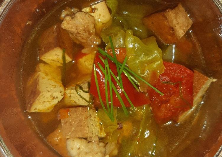 Smoked Tahu (Tofu) Soup 2.0🍅🍅🍅🍅🍅🍅🍅🍅🍅🍅🍅🍅🍅🍅🍅🍅🍅🍅