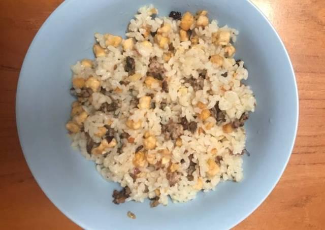 Makanan Anak Nasi Goreng Ikan Tongkol & Tempe