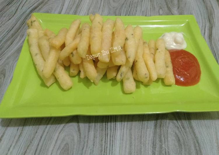 19. Stik Kentang Keju/ Potato Cheese Stick