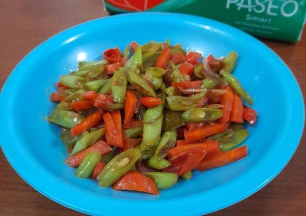 Oseng buncis wortel #110