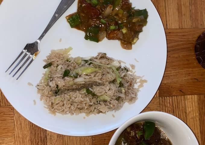 Complete Vegan Chinese Dinner