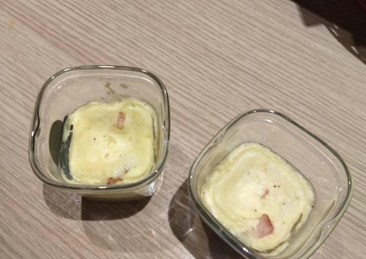 Quiche lorraine sans pâte à la multi-delices de SEB®