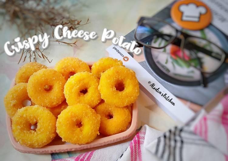 🧀 Crispy Cheese Potato 🧀