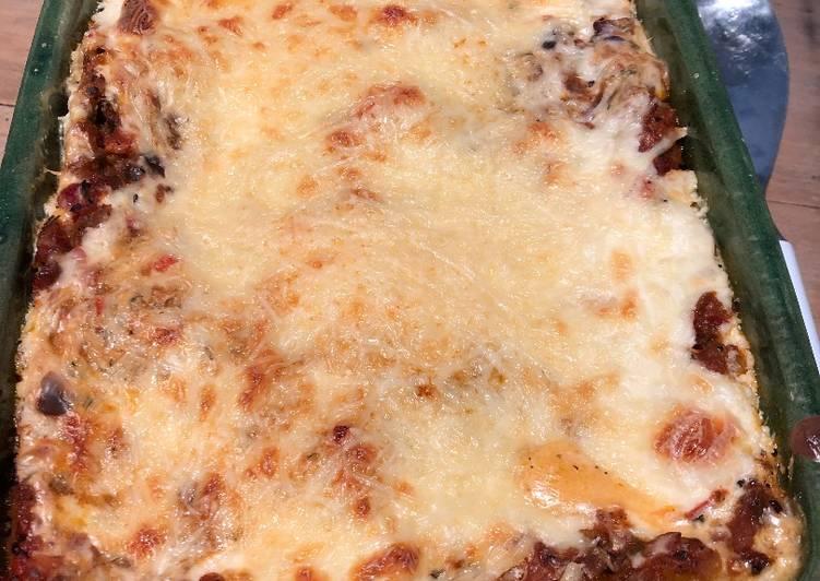 Lasagne aux légumes d'été